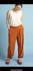 Gudrun Sjoden   Modal/Elastan Luisa Trousers Size S (10)