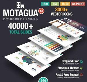 PowerPoint Template Multipurpose Motagua +40000 PowerPoint Slides