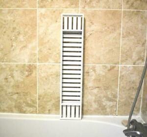 70cm Bathroom Shelf Tidy Tray Storage Bath Tub Caddy Bamboo Organiser Rack