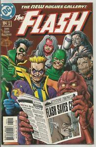Flash #184 Vol 2 Wally West Captain Cold Thinker Hunter Solomon