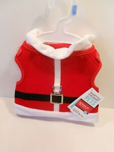 Martha Stewart Holiday Santa Dog Harness Vest size Small