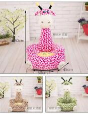 Giraffe Sofa Chair Toys Kids Soft Cushion Seat Plush Stuffed Animal HOME gift A+