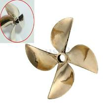 6717 4 Blade Copper Prop Propeller Dia 61mm P1.7 For 1/4'' Shaft RC Boat Part