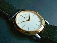 New Women's Titan Executive 817BAA Slim S.Steel & Gold Plated Watch!