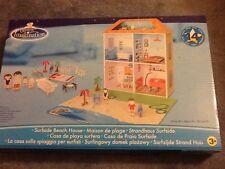 Dolls House casa sulla spiaggia con accessori NUOVO CON SCATOLA