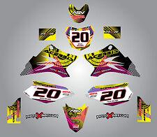 Full Custom Graphic Kit Yamaha TTR  50  - 2006 - 2016 stickers / decals