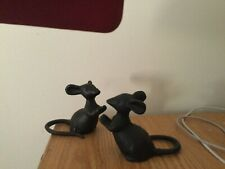 New listing Cast Iron Metal Set/2 Mice Mouse Rodent Figurine Statue