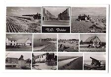 Netherlands Holland real photo postcard N. O. Polder multiview