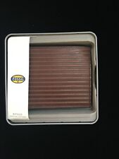 Mens Fossil Leather Bifold Brown Wallet Avery ML3750201 New $50 Includes Box