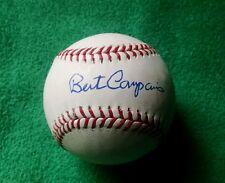 BERT CAMPANERIS autographed official Major League baseball