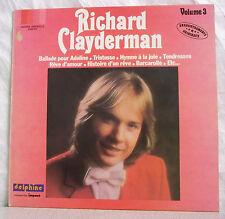 33T Richard CLAYDERMAN Disque LP BALLADE POUR ADELINE IMPACT N°3 6886915F Rèduit