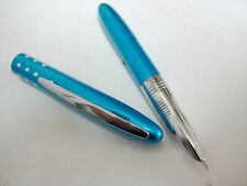 Lovely Colored Metallic small Fountain Pen Blue 616