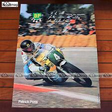 PATRICK PONS sur YAMAHA (1975) - Poster Pilote MOTO #PM194