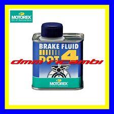 Olio freni Bici MTB MOTOREX Brake Fluid DOT 4 fluido impianti frenanti DOT4