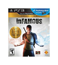 INFAMOUS DUAL PACK (1 & 2)  - PlayStation 3 - slightly used  CONDITION