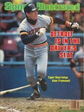 Detroit Tigers Sports Illustrated No Label In The Drivers Seat Alan Trammell '84