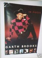 GARTH BROOKS Large Promo Poster IN PIECES super mint condiiton Free Ship USA