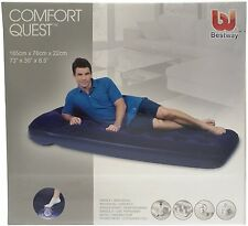 HEAVY DUTY INDOOR OUTDOOR USE EASY INFLATE SINGLE AIRBED