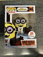 Funko Pop! Minions Walgreens Exclusive Dave'acula FUNKOWEEN NEW #966 Dracula