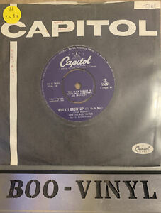 "THE BEACH BOYS~WHEN I GROW UP (To Be A Man) ""  (ORIGINAL CAPITOL UK) 1968 VG+"