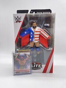 WWE Zack Ryder Mattel Elite 59 Wrestling Action Figure New Sealed MWFP TNA