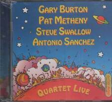 Gary Burton, Pat Metheny, Steve Swallow, Antonio Sanchez: Quartet Live - CD