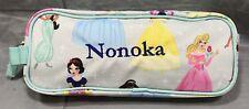 "Pottery Barn Kids Aqua Disney Princesses Mackenzie Pencil Case ""Nonoka� Mono"