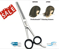 Hair Thinning Cutting Scissors Shears Hairdressing Barber Salon Professional 6""