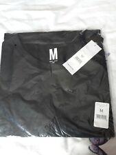 Men's BNWT Black Plain Tshirt, Size M. From New Look