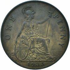 More details for 1935 one penny gb uk king george v / superb high grade     #wt21578