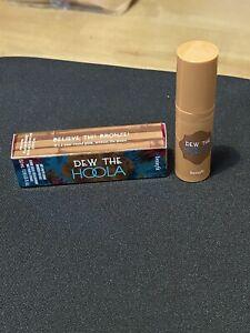 BENEFIT DEW THE HOOLA soft-matte liquid bronzer for face Mini 5.0ml