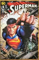 Superman 1 - Tyler Kirkham Unknown Comics Variant DC Comics Bendis