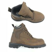 Red Wing DynaForce 6 Inch Classic Brown Leather Work Boot 912 Size