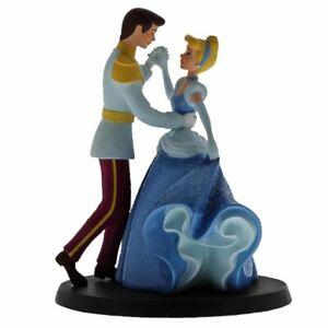 Disney Enchanting Cinderella and Prince Charming Wedding Cake Topper Figurine