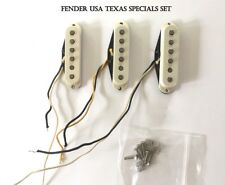 USA Made, Fender Custom Shop Texas Special Strat Pickup Set of 3, w/ hardware