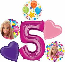 Barbie Sparkle 5th Birthday Party Supplies Balloon Bouquet Decorations