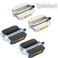 """Original 507 PVC Bicycle Block Pedals 1/2"""" Krate BMX Beach Cruiser Bike Pedal"""
