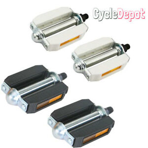 "Original 507 PVC Bicycle Block Pedals 1/2"" Krate BMX Beach Cruiser Bike Pedal"