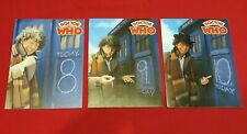 Doctor Who Vintage Fourth Doctor Greeting Cards x 3 Denis Alan Print 1979