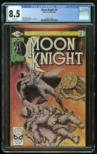 MOON KNIGHT #6 (1981) CGC 8.5 WHITE PAGES MARVEL COMICS