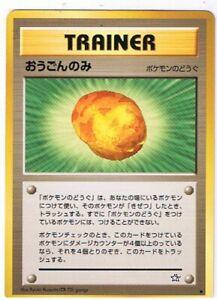 Japanese Gold Berry x1 7/10 LP- Pokemon TCG Neo Genesis FLJNGGB-01