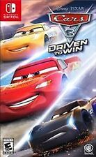 CARS 3: DRIVEN TO WIN (Nintendo Switch, New)