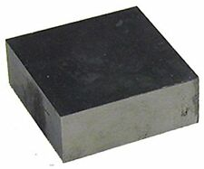 "Solid Steel Jeweler's Bench Block 3"" x 3"" x 3/4"" Jewelry Silversmith Tool"