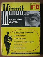 revue  MINUIT...  n° 12 (1960)