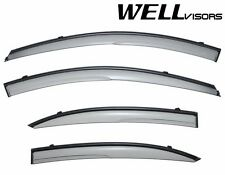 WellVisors Aerodyn Clip On Series Side Window Visors Deflector For 06-09 KIA Rio