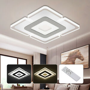 LED Ceiling Lights Square Panel Down White Kitchen Bedroom Living Room Wall Lamp