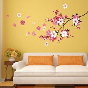 3D Removable Large Flower Wall Vinyl Sticker DIY Home Room Art Decor