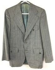1970's Custom Suit Mens 32 L Vintage Disco Era Polyester Blazer Hilo Hawaii