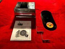 Vintage Automotive Under-Dash-Mounted Record Player