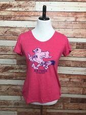Air Force Academy Women's Medium Soft Feel Pink Graphic Falcons TShirt